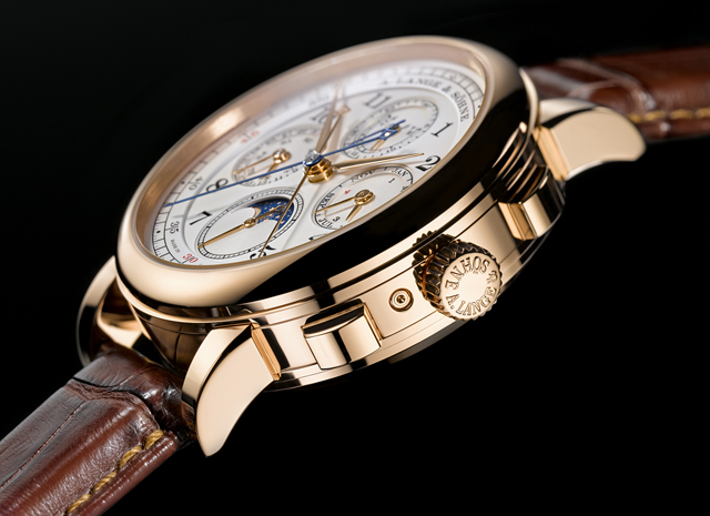 A. Lange & Söhne Grand Complication Six Piece Edition Watch Side