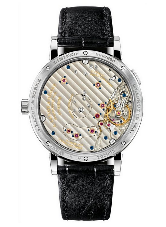 A. Lange & Sohne Grand Lange 1 Lumen Watch Caseback