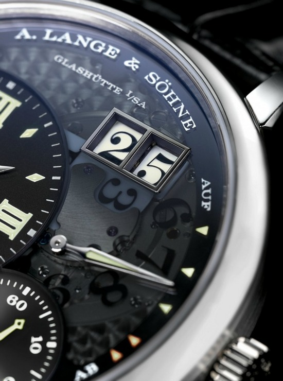 A. Lange & Sohne Grand Lange 1 Lumen Watch Detail