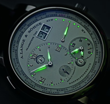 A. Lange & Sohne Lange 1 Time Zone Watch