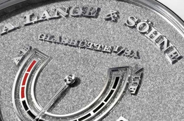 A. Lange & Söhne Lange Zeitwerk Handwerkskunst Watch Power Storage Indication