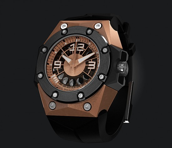 Linde Werdelin Oktopus II Moon Red Gold Watch