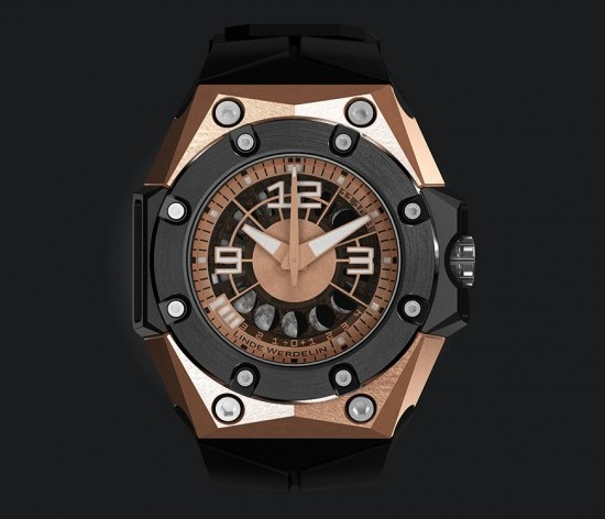 Linde Werdelin Oktopus II Moon Watch Red Gold