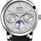 A.Lange Sohne Saxonia Annual Calendar Platinum Watch Front