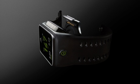 Adidas miCoach Smart Run Fitness Watch Side