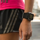 Adidas miCoach Smart Run Fitness Watch On Woman Hand