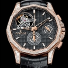Corum Admiral's Cup Seafinder 47 Tourbillon Chronograph Red Gold Diamonds Watch Case