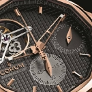 Corum Admiral's Cup Seafinder 47 Tourbillon Chronograph Red Gold Watch Dial