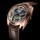 AkriviA Saturn Tourbillon Monopusher Chronograph Red Gold Watch