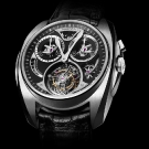 AkriviA Saturn Tourbillon Monopusher Chronograph Steel Watch