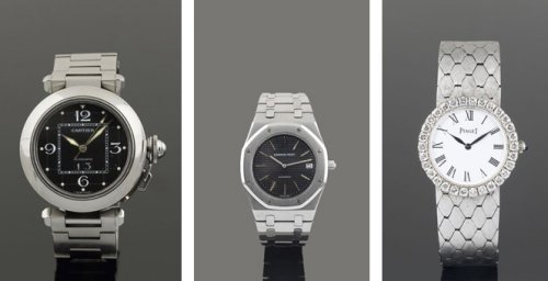 Cartier, Audemars Piguet and Piaget