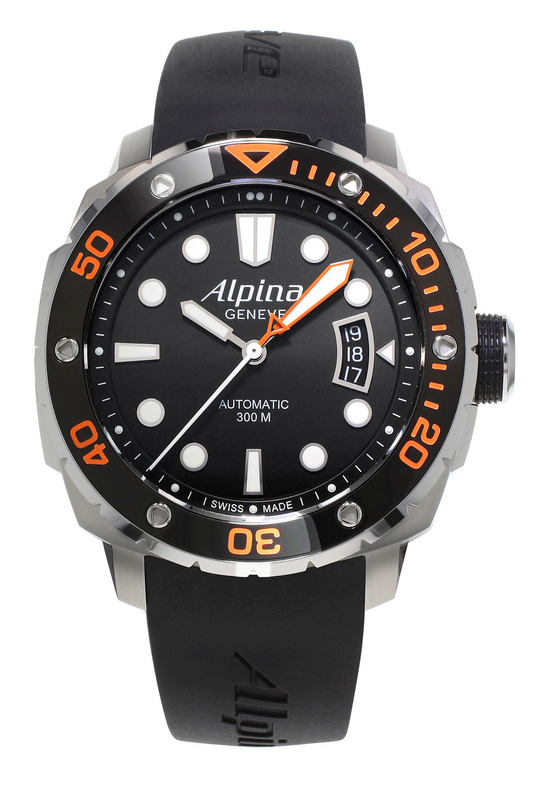 Alpina Extreme Diver 300 Automatic Orange Watch