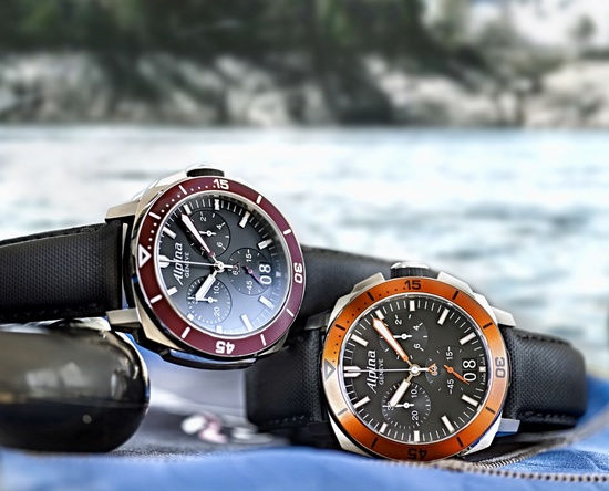 Alpina Seastrong Diver 300 Big Date Watches