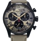 Alpina Startimer Camouflage Pilot Big Date Chronograph Watch AL372MLY4FBS6
