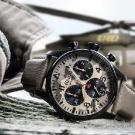 Alpina Startimer Camouflage Pilot Big Date Chronograph Watch
