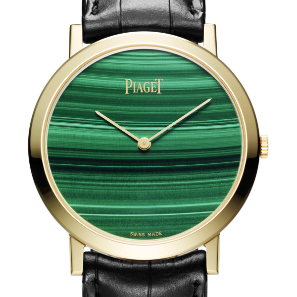 Piaget Altiplano Hard Stone Malachite Dial Watch