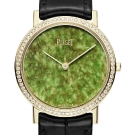 Piaget Altiplano Hard Stone Jade Dial Watch