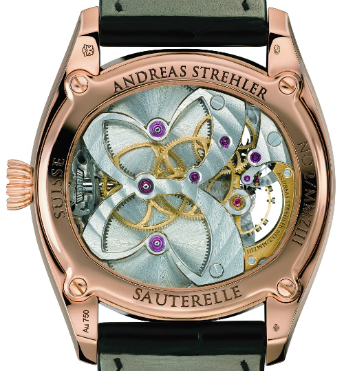 Andreas Strehler Sauturelle Watch Back