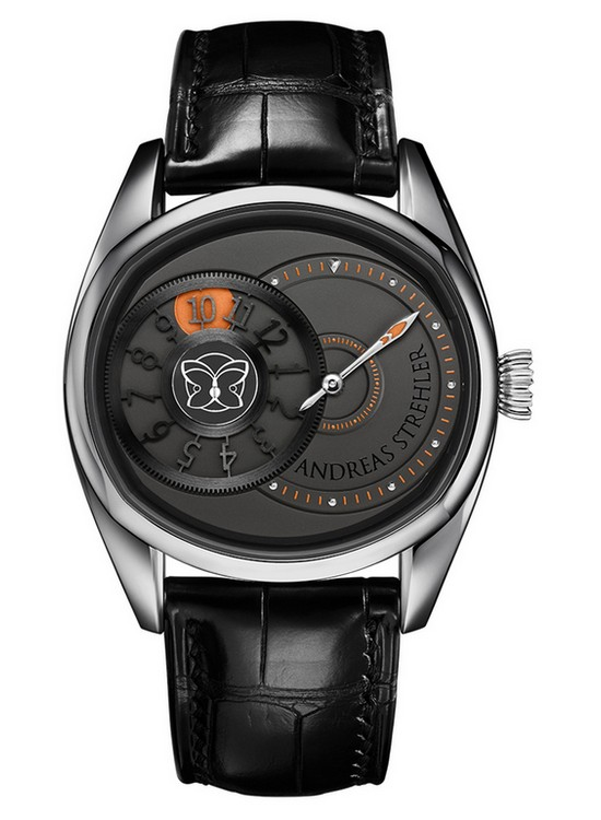 Andreas Strehler Time Shadow Watch Front
