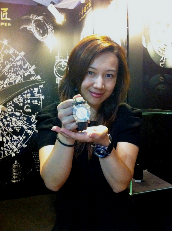 Ashley Ng, Brand Coordinator of the Chinese Timekeeper