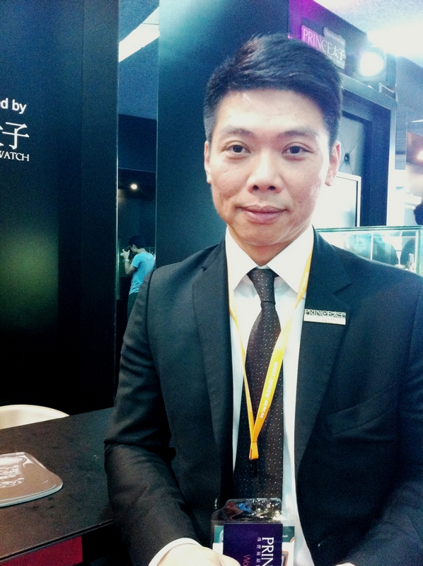 Jeff Lam, Manager of Prince Jewellery & Watch Company