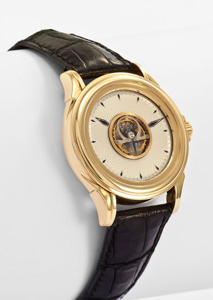 Omega De Ville Central Tourbillon Watch