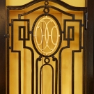 Faubourgsaint Honore Elevator Wrought Iron Decoration Details