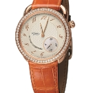 Hermes Arceau Le Temps Suspendu Rose Gold With Diamonds Watch