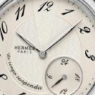 Hermes Arceau Le Temps Suspendu Steel Watch Dial