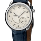 Hermes Arceau Le Temps Suspendu Steel Watch
