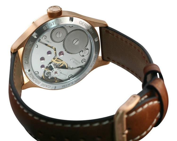 Archimede DeckWatch with Bronze Case Back
