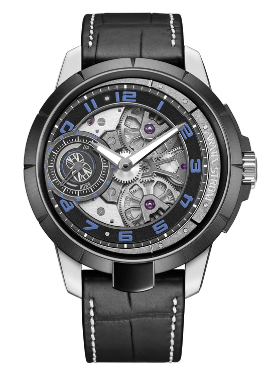 Armin Strom Max Chilton Edge Double Barrel Watch Front