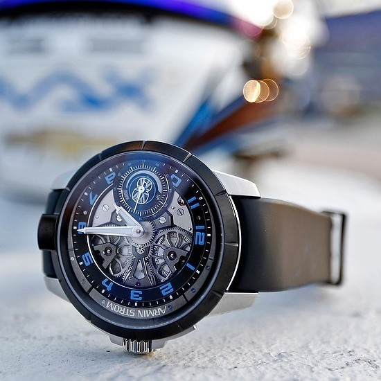 Armin Strom Max Chilton Edge Double Barrel Watch