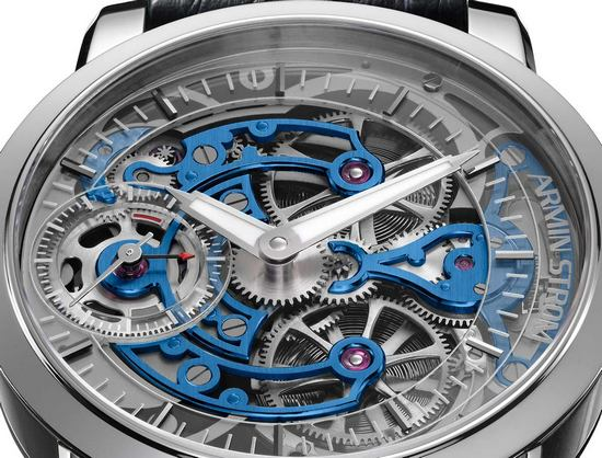 Armin Strom Skeleton Pure White Gold Watch - Dial