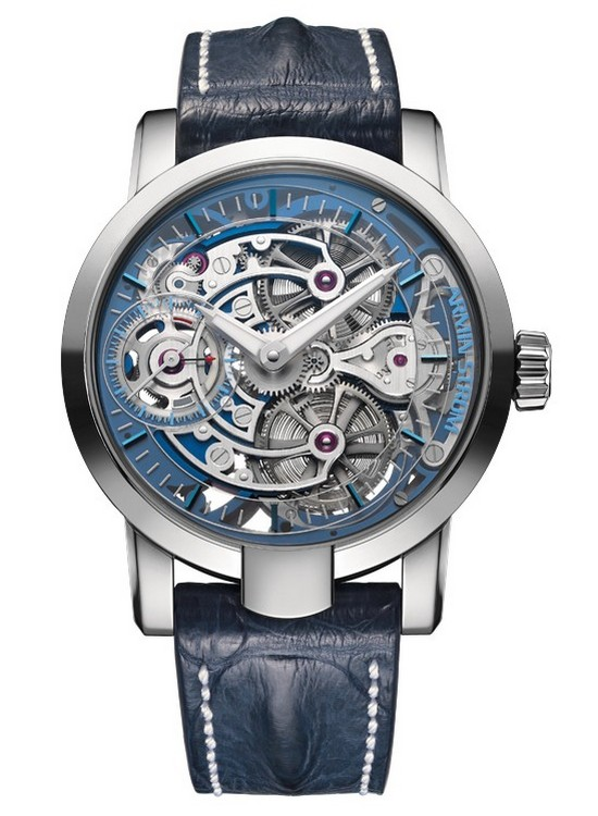 Armin Strom Skeleton Pure White Gold Watch - Front