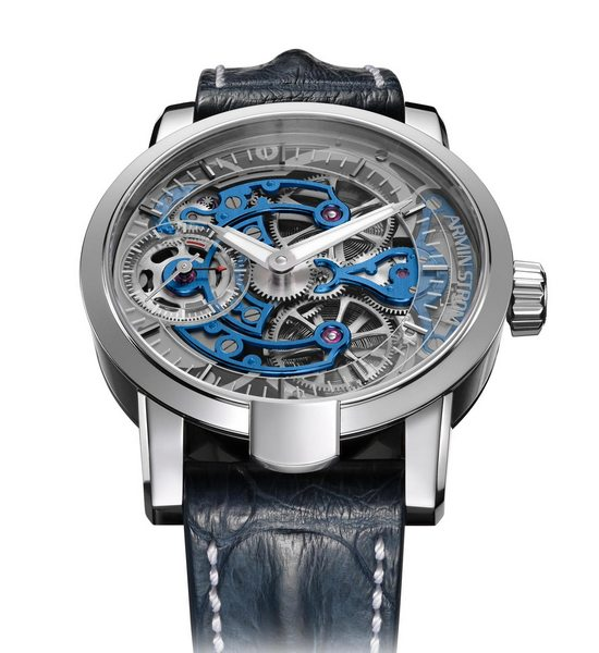 Armin Strom Skeleton Pure White Gold Watch