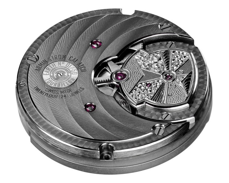 Armin Strom ATC11 Tourbillon Caliber Back