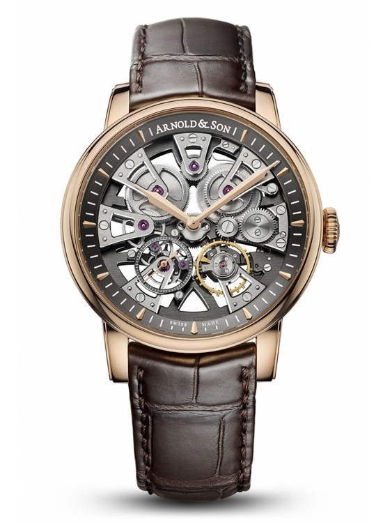 Arnold & Son Royal Nebula Red Gold Watch Front