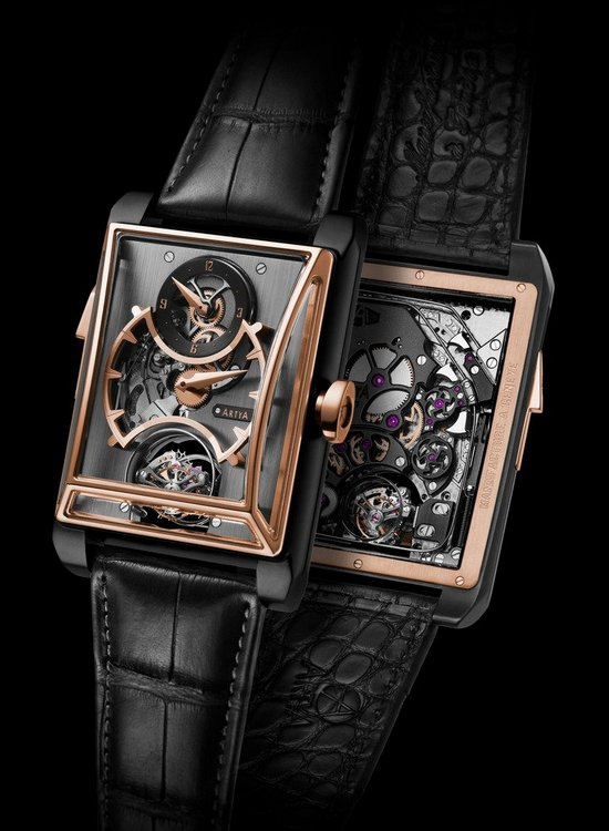 Artya Complications Minute Repeater With 3 Gongs, Regulator & Double Axis Tourbillon Watch