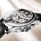 Ateliers deMonaco Admiral Chronographe Flyback Saphir Watch White Gold Profile
