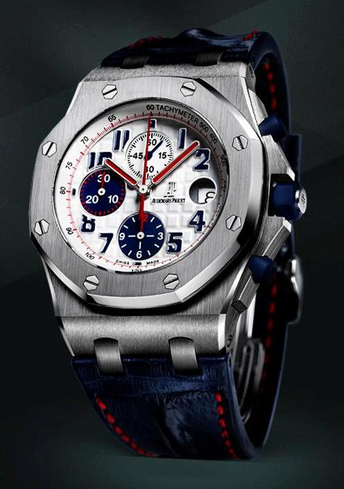 audemars piguet presents royal oak offshore chrono tour auto 2012 watch watch review. Black Bedroom Furniture Sets. Home Design Ideas