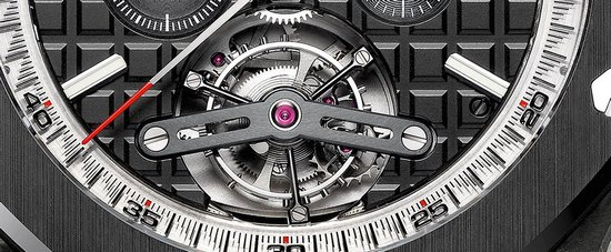 Audemars Piguet Royal Oak Offshore Selfwinding Tourbillon Chronograph Watch Detail