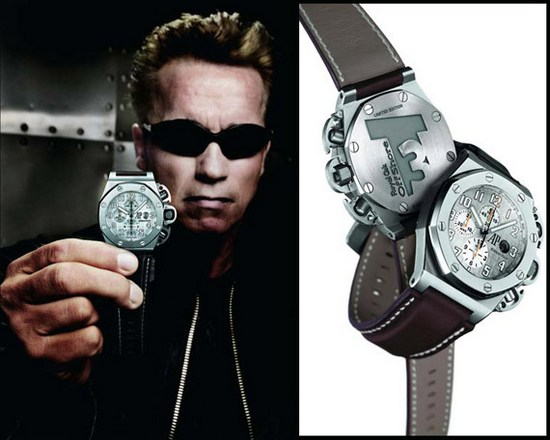 Arnold Schwarzenegger - Royal Oak Offshore T3 Chronograph Watch