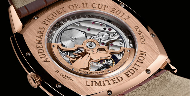 Audemars Piguet Queen Elizabeth II Cup 2012 Tradition Limited Edition Watch Caseback