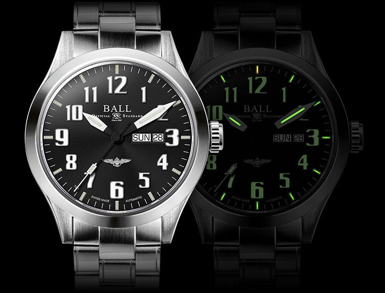 Ball Engineer III Silver Star Watch