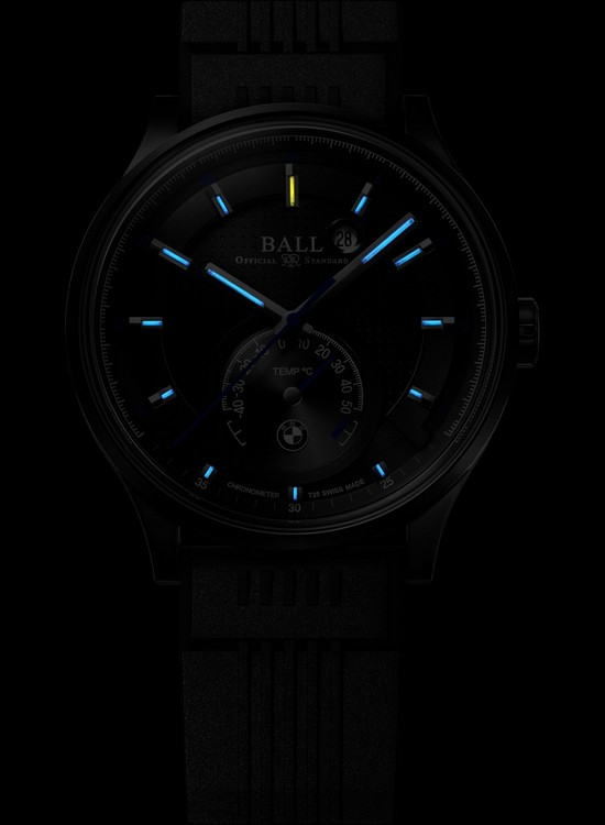 Ball for BMW TMT Chronometer Watch Night Front