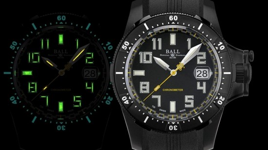 Ball Watch Engineer Hydrocarbon Black Watch Day/Night