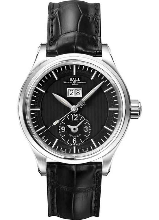 Ball Trainmaster First Flight Leather Watch