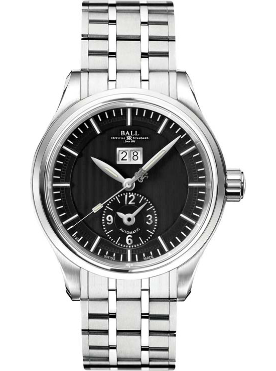 Ball Trainmaster First Flight Steel Watch