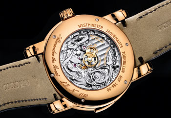 Ulysse Nardin Alexander the Great caseback